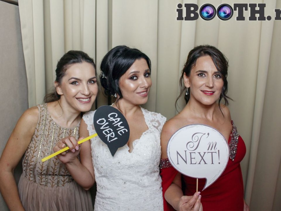 photobooth nunta la reina events